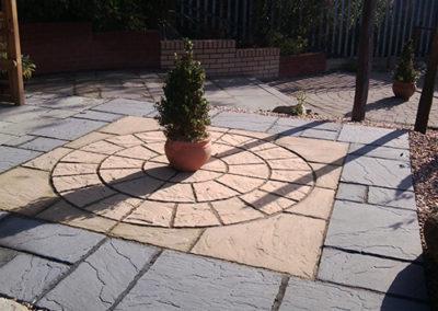 patio by edinburgh stonemasons