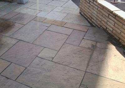 stone patio edinburgh